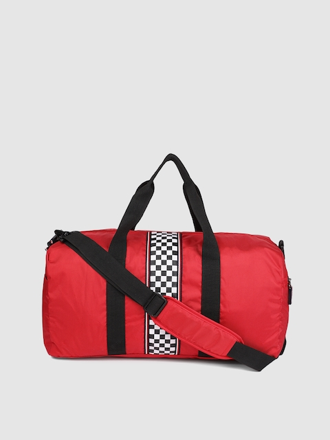 Tommy Hilfiger Unisex Red Small Duffel Bag