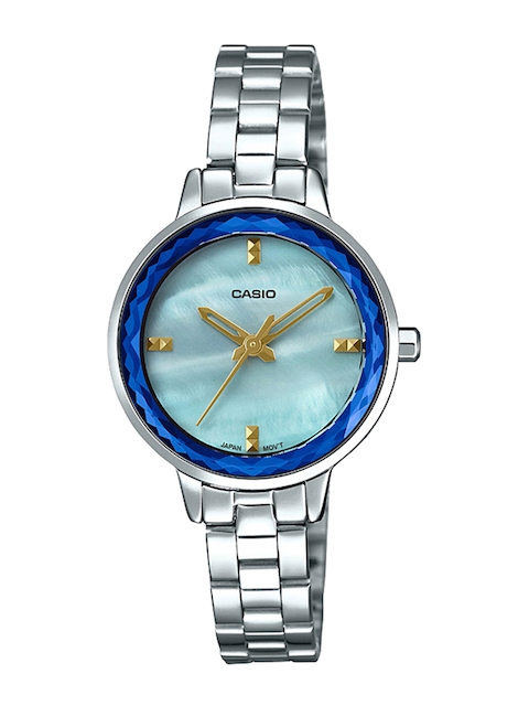 Casio Enticer Lady Women Blue Analogue watch A1727
