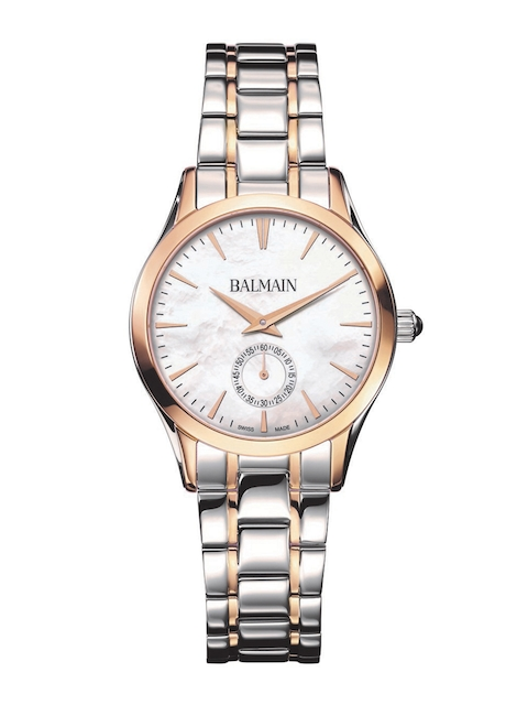 Balmain Classic R Lady Small Second Off-White Swiss Made Mother of Pearl Analogue Watch B47183386