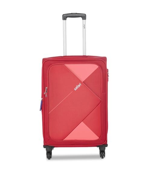 Safari Unisex Red Cabin Trolley Bag