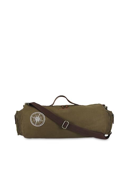 The House of Tara Unisex Khaki Duffle Bag