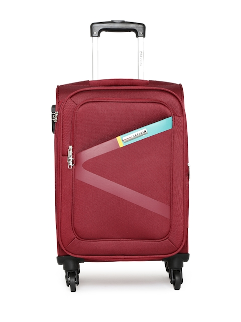 Safari Unisex Red Greater Small Trolley Bag