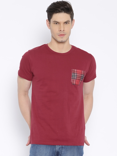 MTV Maroon T-shirt