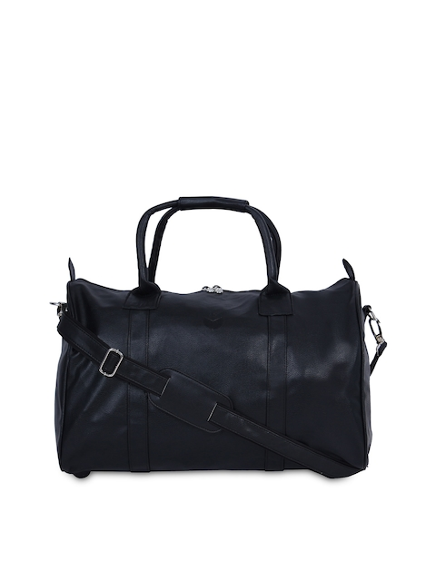 MBOSS Unisex Black Duffel Bag