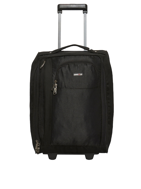 Bags.R.us Unisex Black 34L Cabin Trolley Bag