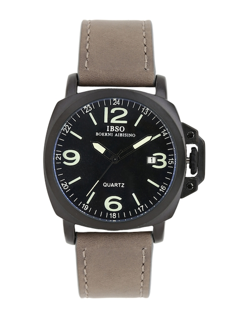 IBSO Men Black Analogue Watch S8113GGY