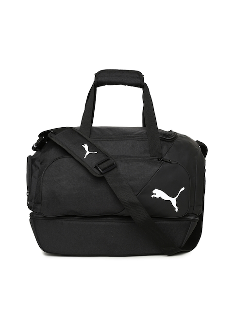 Puma Kids Black LIGA Football Junior Duffel Bag