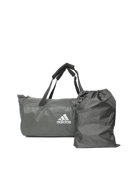 ADIDAS Unisex Charcoal Grey TR CVRT Duffel Bag cum Backpack