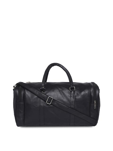 MBOSS Black Duffel Travel Bag