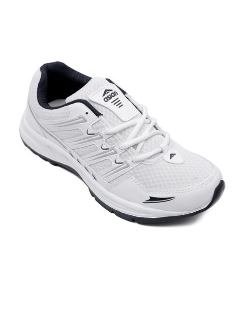 ASIAN Men White Running Shoes