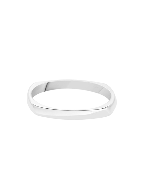 TALISMAN Women Rhodium-Plated Silver-Toned Handcrafted Ring