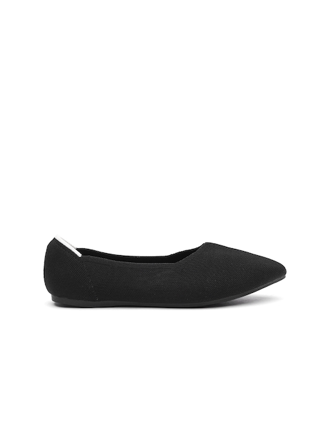 ether Women Black Solid Ballerinas