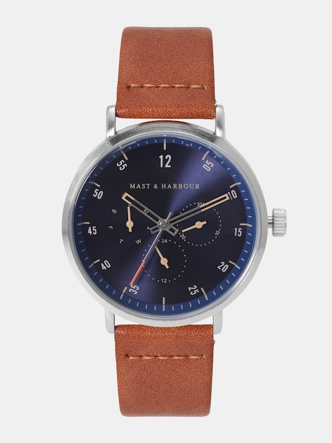 Mast & Harbour Men Navy Analogue Watch MFB-PN-WTH-6293G