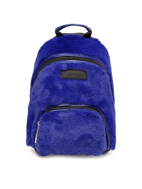 FOREVER 21 Women Blue Solid Backpack