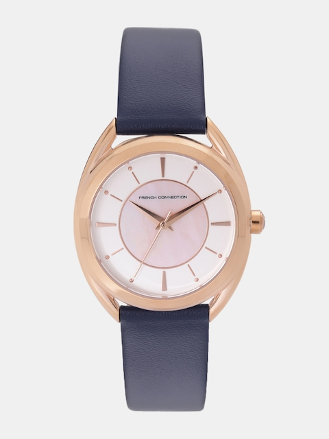 French Connection Women White Analogue Watch FCS1000U