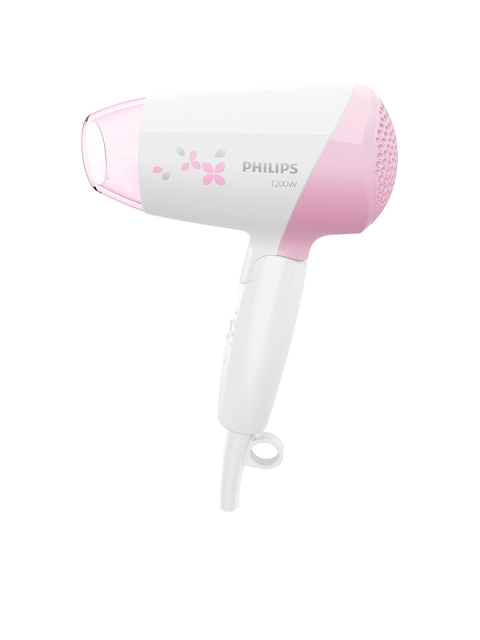 Philips Essential Care 1200 W Hair Dryer HP8120/00 White & Pink