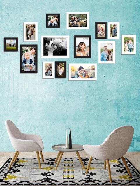 Art Street Set of 14 Black & White Wall Photo Frames