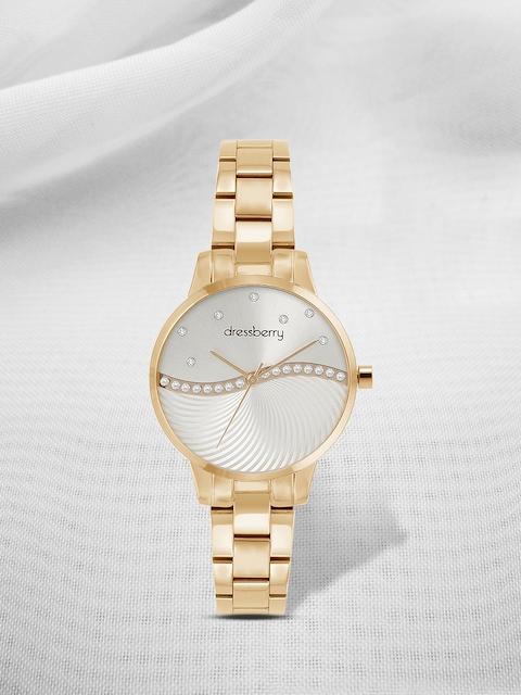 DressBerry Women Silver-Toned Analogue Watch MFB-PN-MF0263L.01
