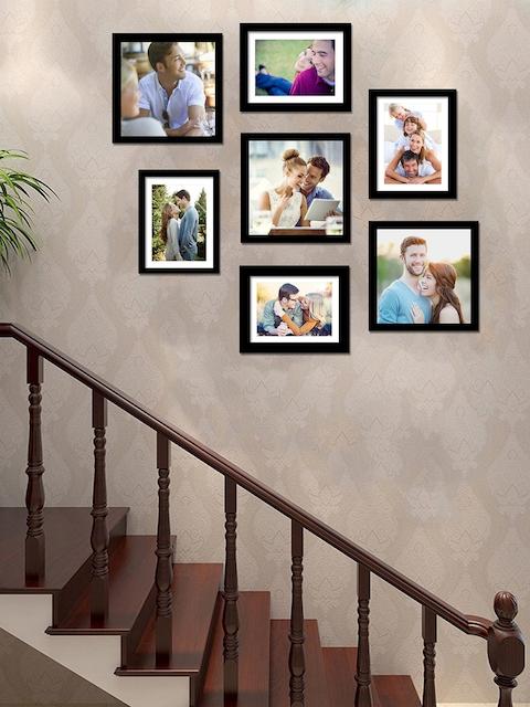 Art Street Set of 7 Black Individual Photo Frames