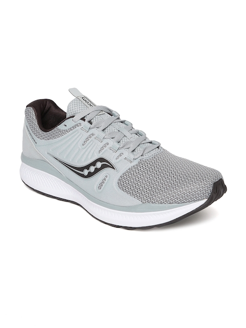 saucony Men Grey Running Shoes