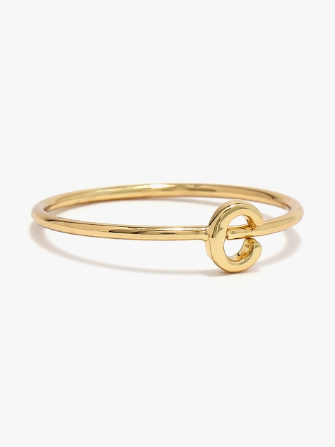 Accessorize Golden Metal Ring