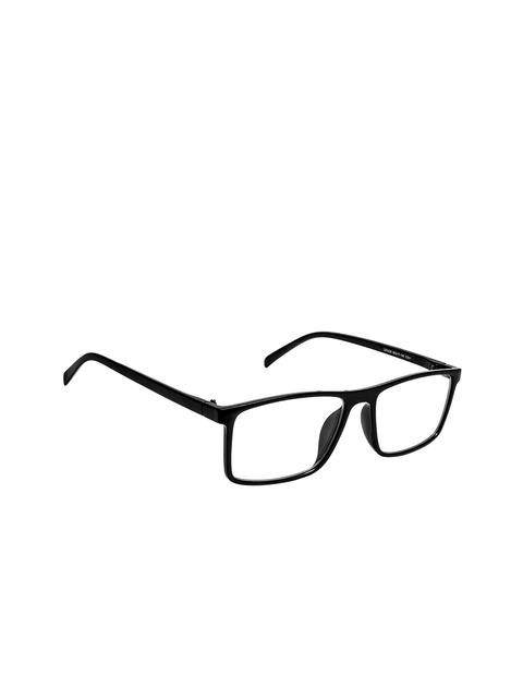 Cardon Unisex Black Solid Full Rim Rectangle Frames EWCD2315CUD2429C1