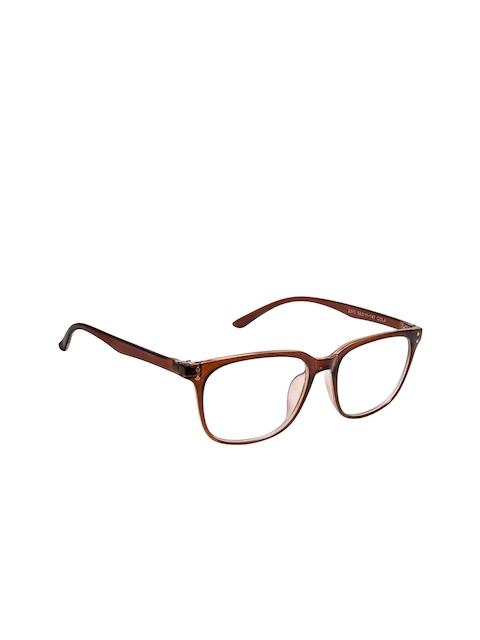 Cardon Unisex Brown Solid Full Rim Wayfarer Frames
