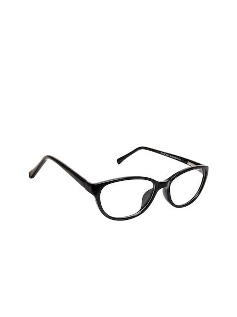 Cardon Women Black Solid Full Rim Cateye Frames EWCD2285MGT8806BLK
