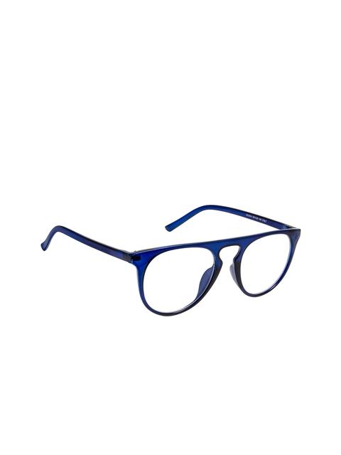 Cardon Unisex Blue Solid Full Rim Oval Frames EWCD2361CUD2434C7