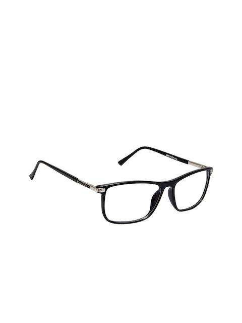 Cardon Unisex Black Solid Full Rim Rectangle Frames EWCD2104MGL28888