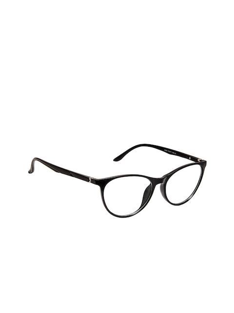 Cardon Women Black Solid Full Rim Oval Frames EWCD2127CK8964C1