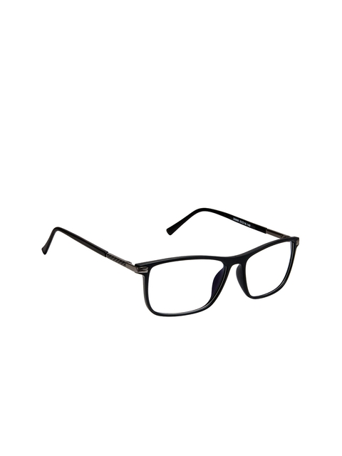 Cardon Unisex Black Solid Full Rim Rectangle Frames EWCD2103MGL28888