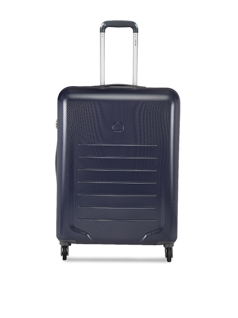 DELSEY Unisex Blue Cabin Trolley Suitcase