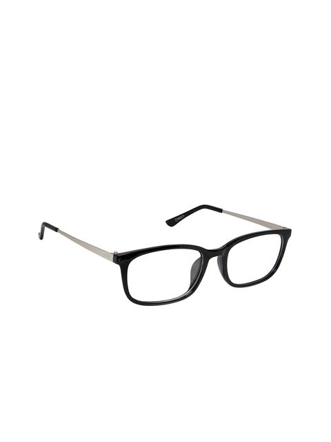 Cardon Unisex Black Solid Full Rim Rectangle Frames NEWCD1221