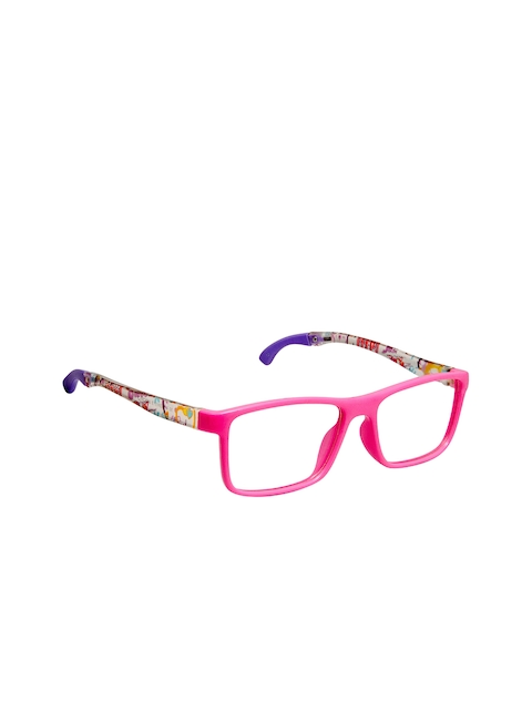 Cardon Girls Pink Abstract Full Rim Rectangle Frames CNEWCD1871