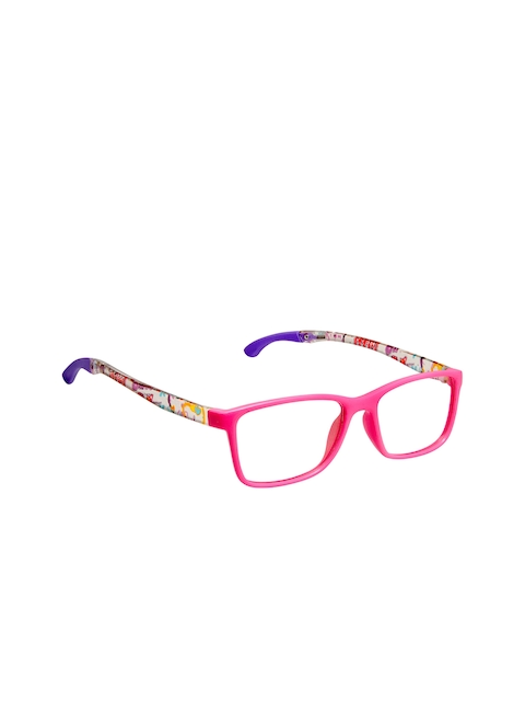 Cardon Girls Pink & Purple Solid Full Rim Rectangle Frames CNEWCD1890
