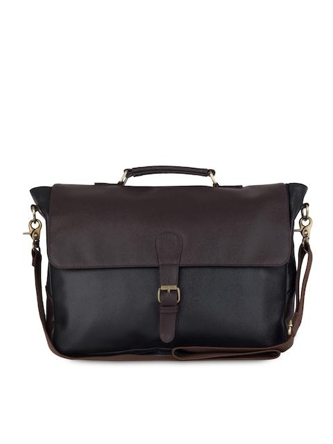 The House of Tara Unisex Brown Laptop Bag