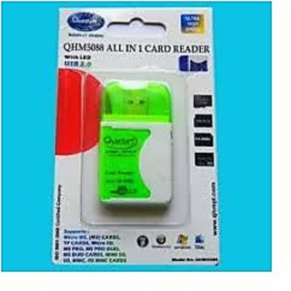 All in One USB PC MEMORY Card Reader Quantum 100  Original Latest