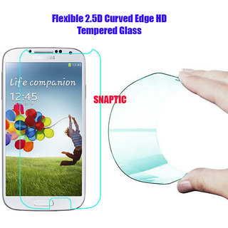 Snaptic 03MM Curved Edge HD Flexible Universal Tempered Glass for 5 inch Display Phones