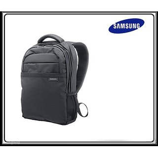 Samsung Polyester15.6 Backpack Laptop Bag (Black)
