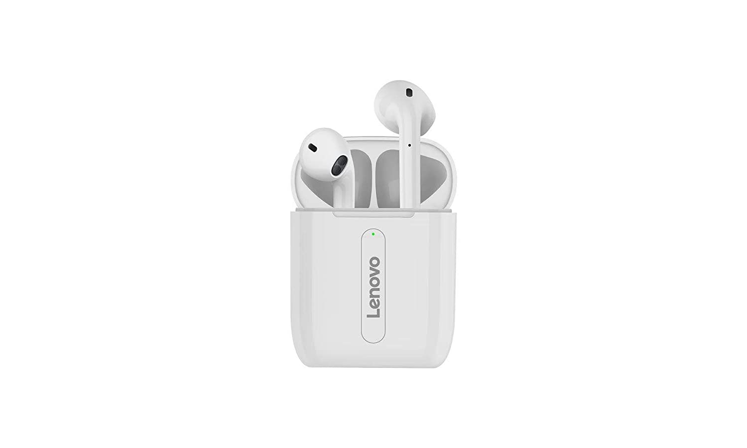 Lenovo X9 True Wireless Earphones with BT v5.0, IPX4, Upto-20 Hours Playtime, Smart Touch, HiFi Stereo 9D Sound Quality with Mic- White
