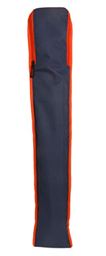 KD Cricket Bat Cover Hockey Stick Bag Cover Multi Sports Foam Padded Stick KitBag with Mobile Wallet Zip Pocket (Custom Navy Blue)