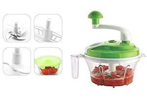 SVS SV Shoperzone 4 in 1 Plastic Food Processor, Medium, Multicolour