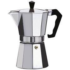 3d Creations Aluminium Espresso Stove Percolator 6 Polished Cups(Silver, 300ml)