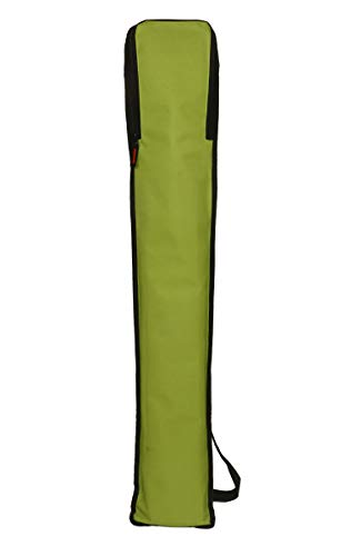 KD Cricket Bat Cover Hockey Stick Bag Cover Multi Sports Foam Padded Stick KitBag with Mobile Wallet Zip Pocket (Green)
