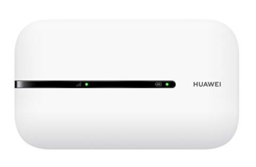Huawei E5576- Super-Fast 4G LTE150 Mbps Produce a WiFi Hotspot Connecting up to 16 Devices Including No Configuration Required (White)
