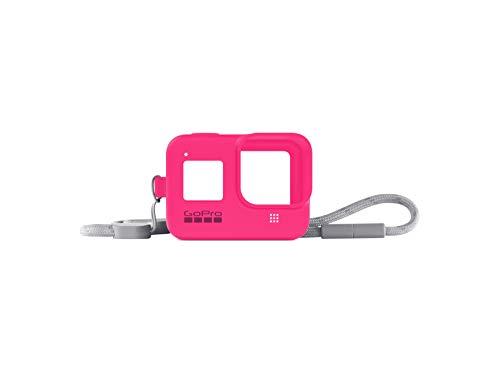 GoPro Sleeve + Lanyard Electric Pink for HERO8