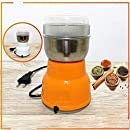 Anugrah Mart Multi-Functional Coffee Grinder Electric Stainless Steel Herbs Spices Nuts Grains Coffee Bean Grinder Machine Home Office Worker