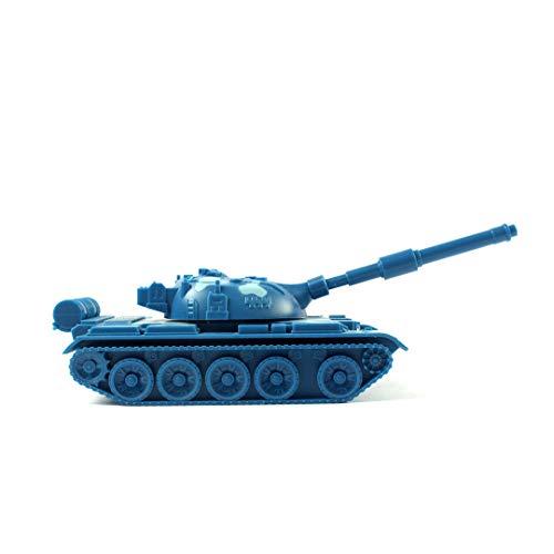 Aims Mini Music Tank LED Digital Speaker TF/FM Radio/USB/AUX/Flashlight (Blue Camouflage)