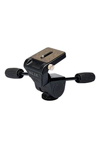 SLIK Pro II 3-Way Panhead - Supports 16.00 lb (7.26 kg), Black (618-908)